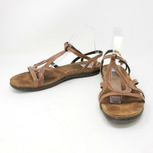 Naot Sandals Size 10 Women's Strapped Flat Sandals